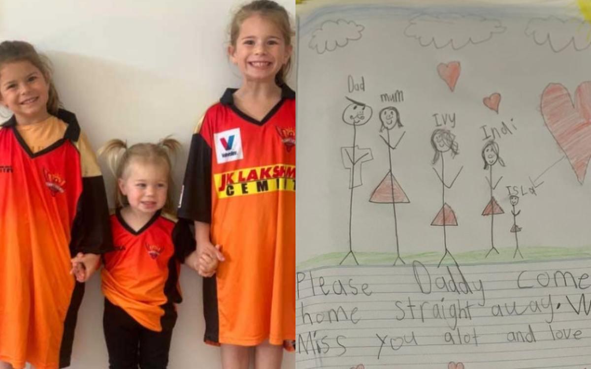 Cricket Image for Former Srh Captain David Warner Shares Emotional Msz Of His Daughter