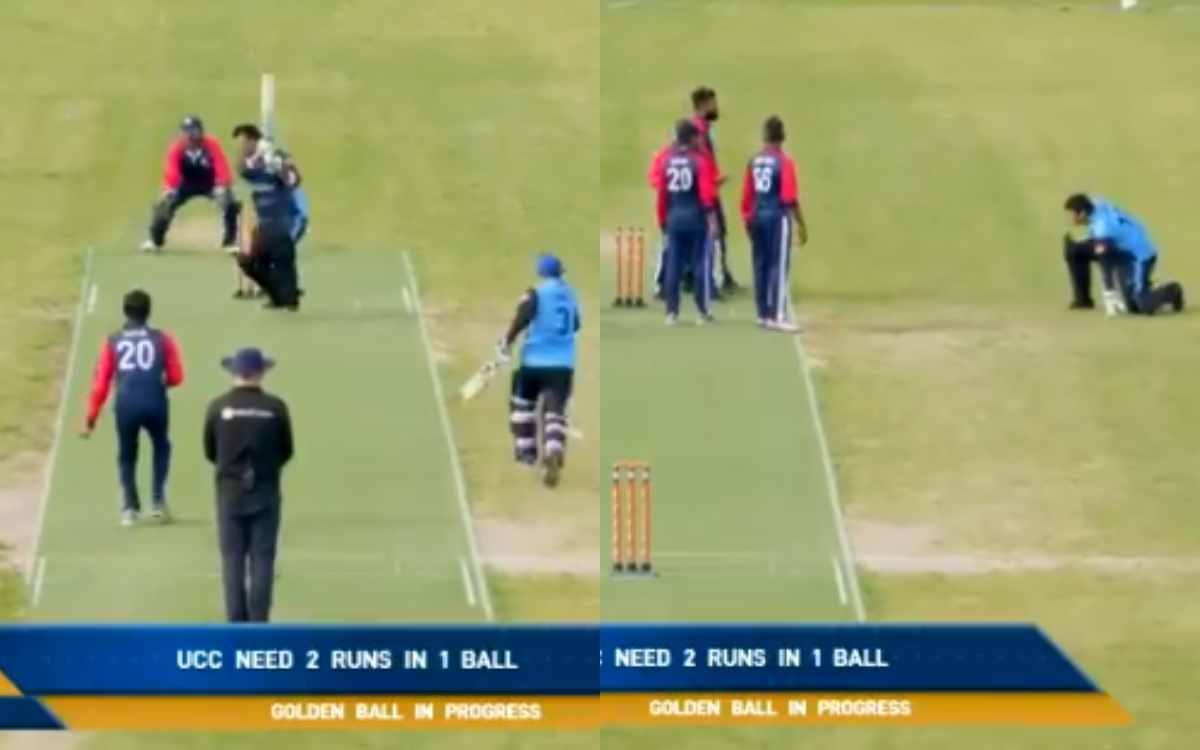 Cricket Image for VIDEO : कौन जीता, कौन हारा, मैच का ये वीडियो देखकर खुद ही फैसला कीजिए