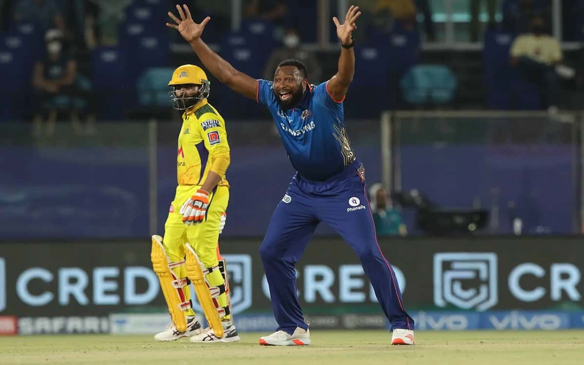 Cricket Image for IPL 2021: Happier With My Two Wickets Than The 87-Run Knock Says Kieron Pollard