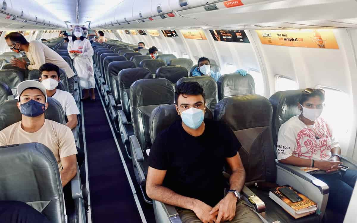 Indian team prepares to go to England first batch of players arrives in Mumbai