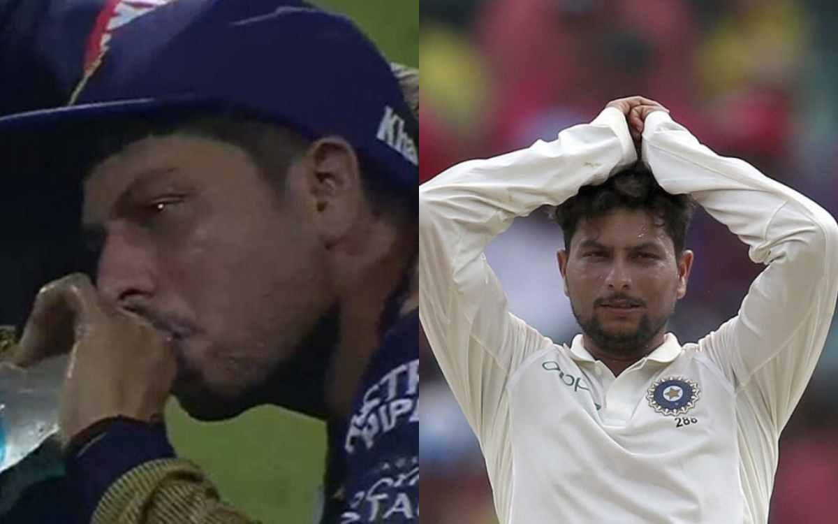 Cricket Image for क्या खत्म हो गया है कुलदीप यादव का करियर ? पहले आईपीएल और अब टेस्ट क्रिकेट से किया