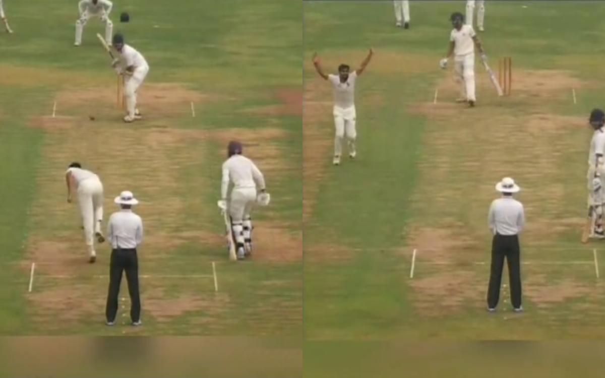 Cricket Image for Mohammed Shami Brother Mohammed Kaif Shares Bengal U23 Vs Baroda Match Video