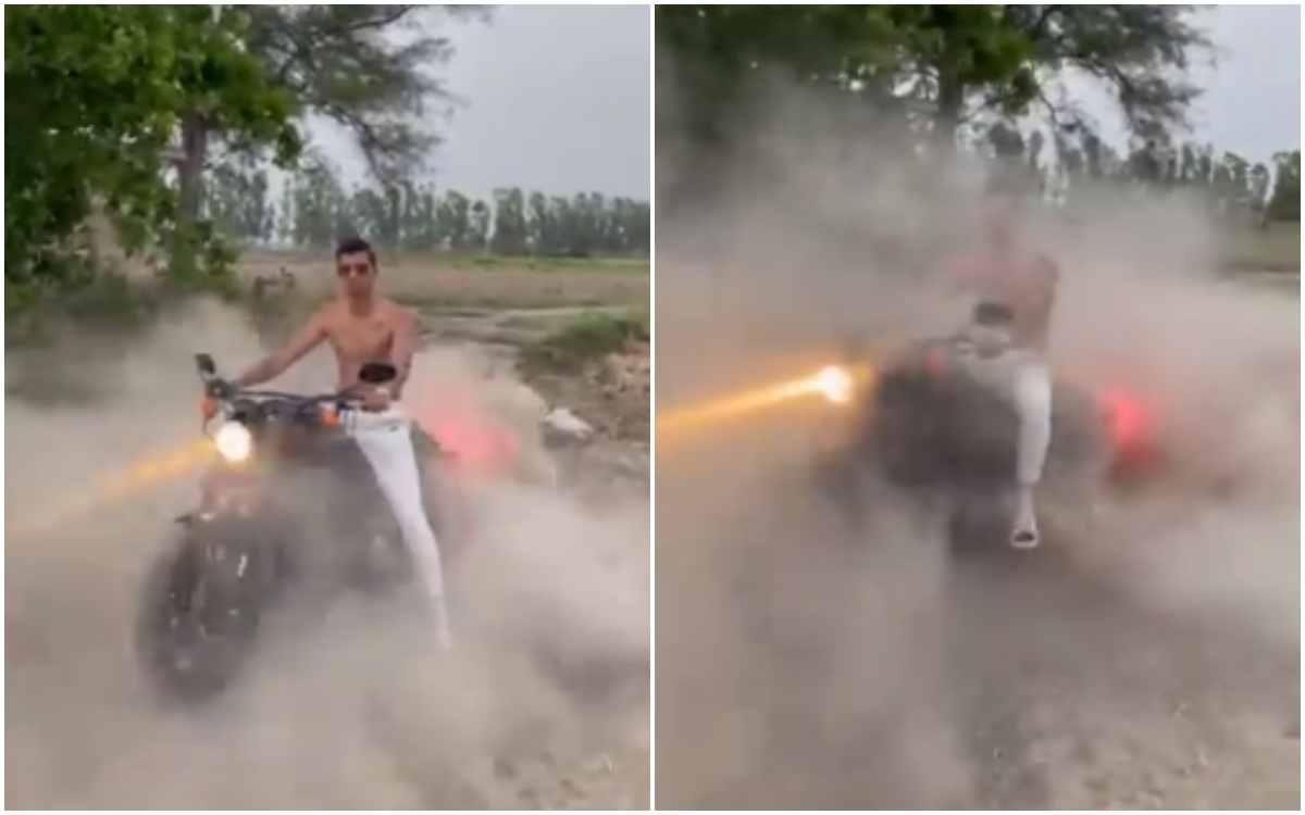 Cricket Image for VIDEO : 'ज़्यादा हीरो मत बन, अभी 2 साल ही हुए हैं सेलेक्ट हुए', नवदीप सैनी को फैंस