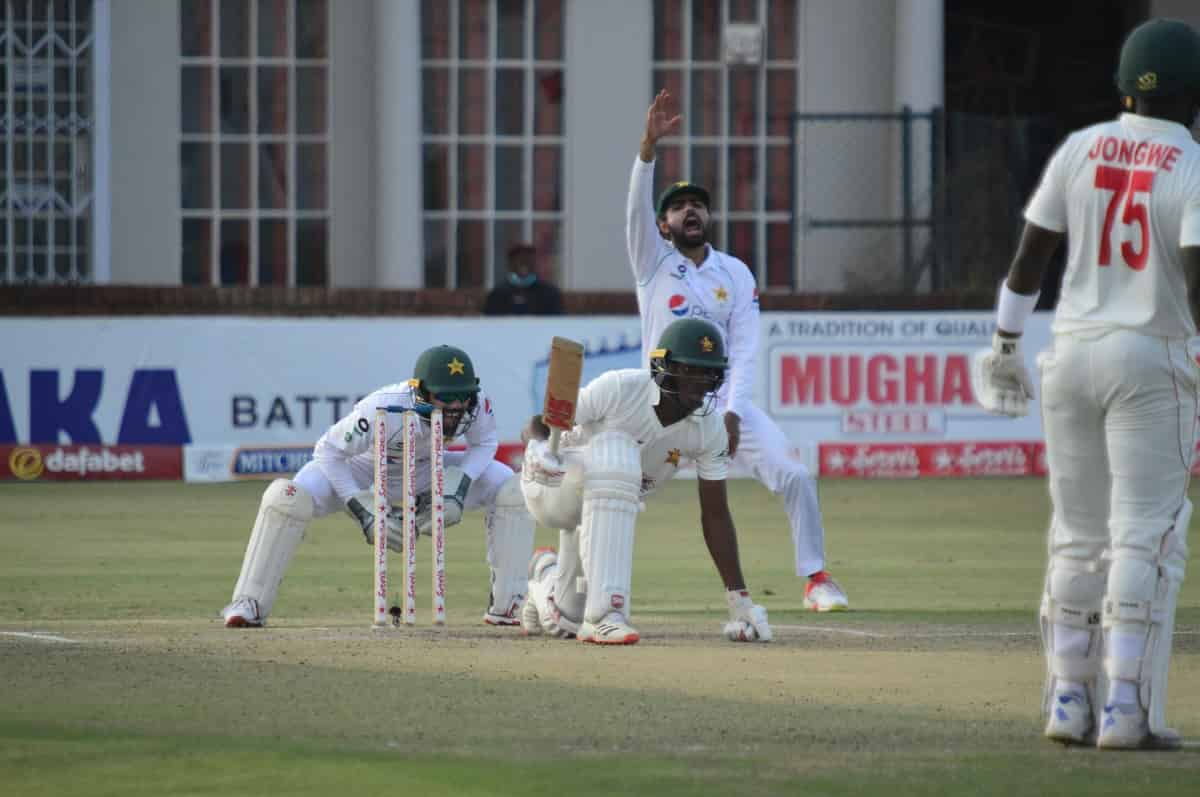 Cricket Image for 2nd Test: Pakistan Beat Zimbabwe To Win the Test  Series 2-0