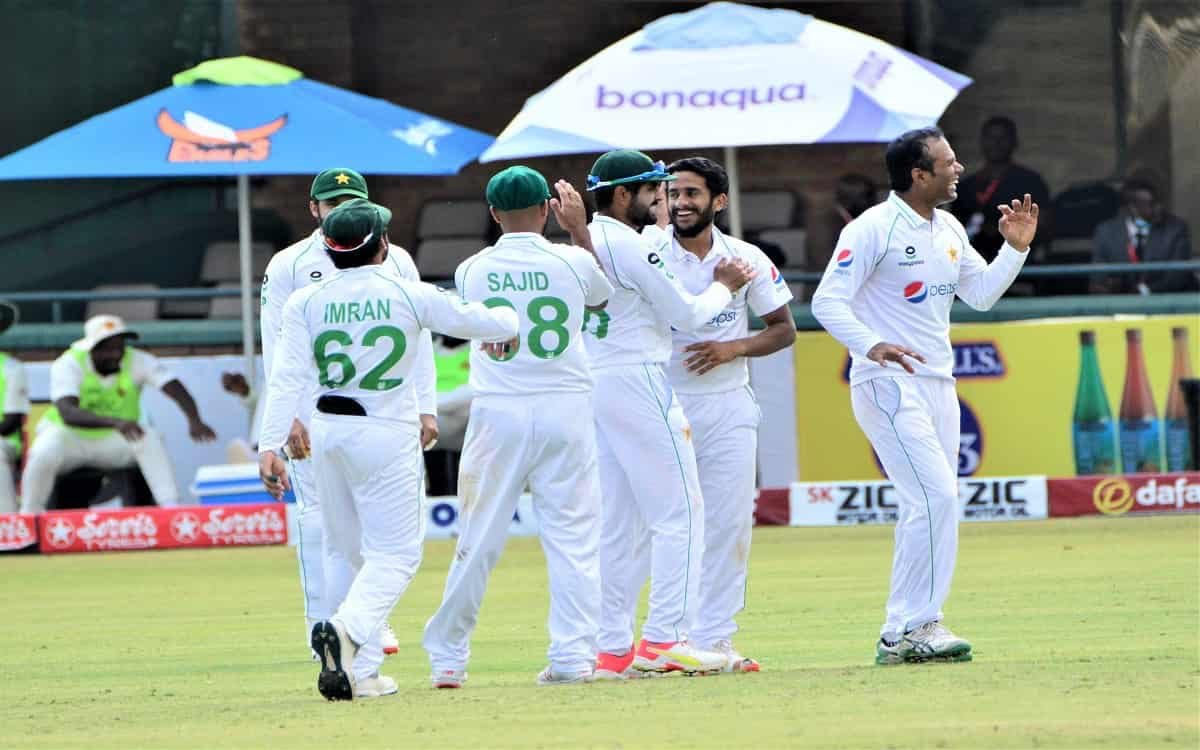 Cricket Image for ZIM vs PAK, 1st Test: Pakistan Crush Zimbabwe By Innings & 116 Runs