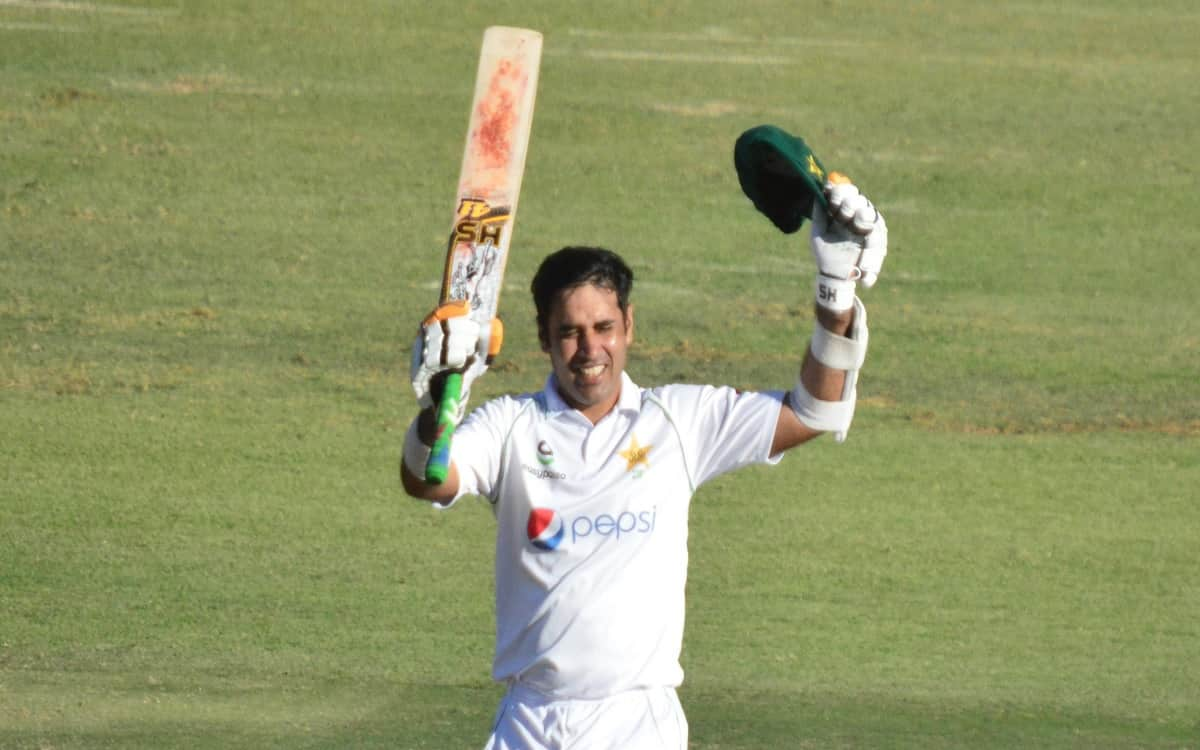 Cricket Image for Pakistan Strong With Abid Alis Double Century Team Declared First Innings At 510/8