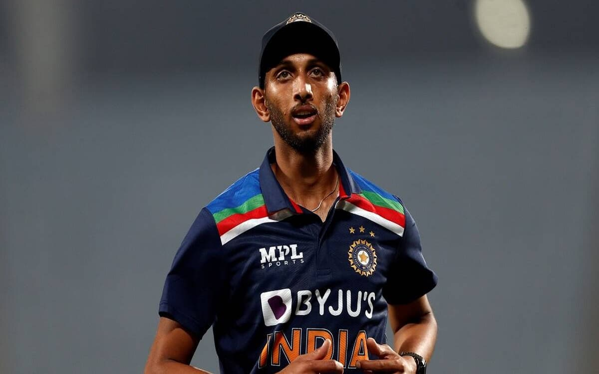 Cricket Image for Parsidh Krishna Recovered From Covid 19 Will Join The Indian Team On 23 May