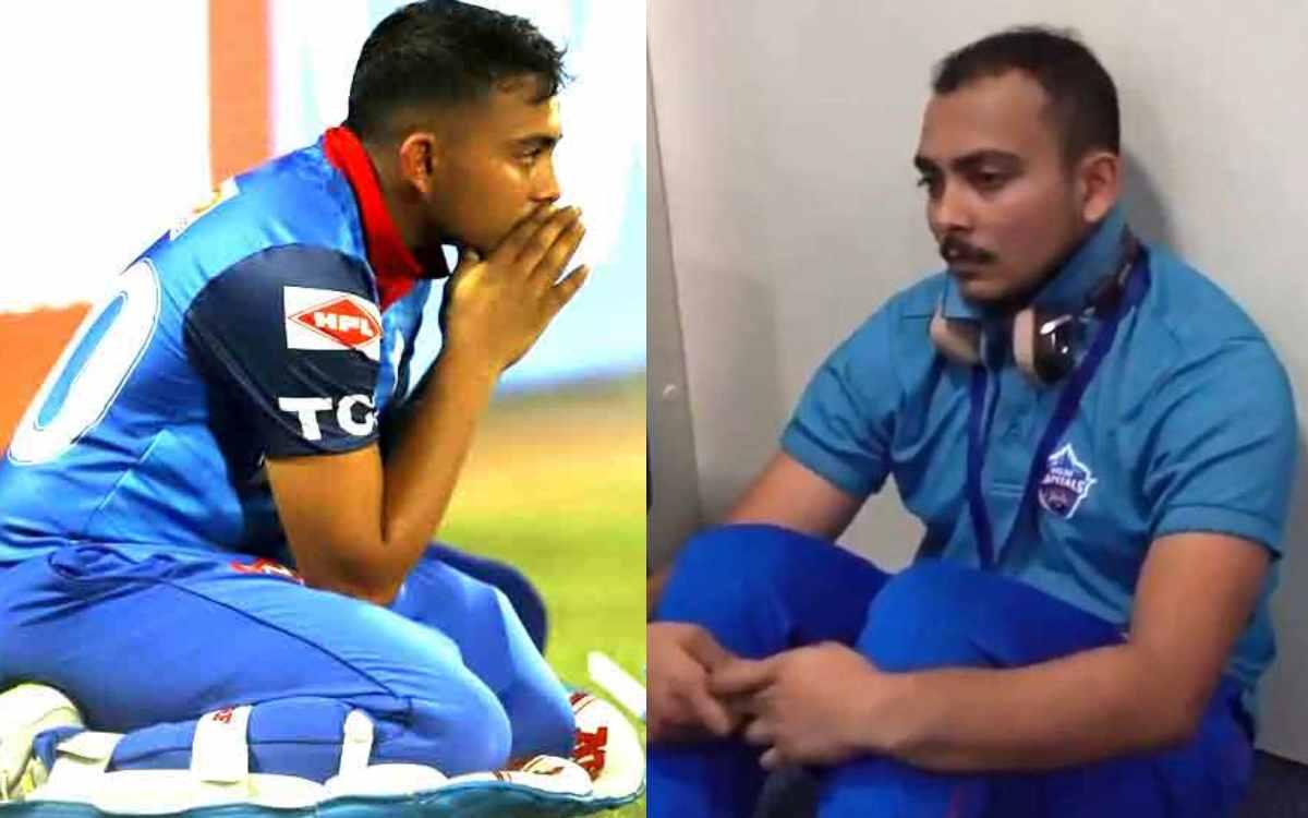 Cricket Image for बैन के लिए अपने पापा पर फोड़ा ठीकरा, बुरे वक्त में टूटकर बिखर गए थे पृथ्वी शॉ