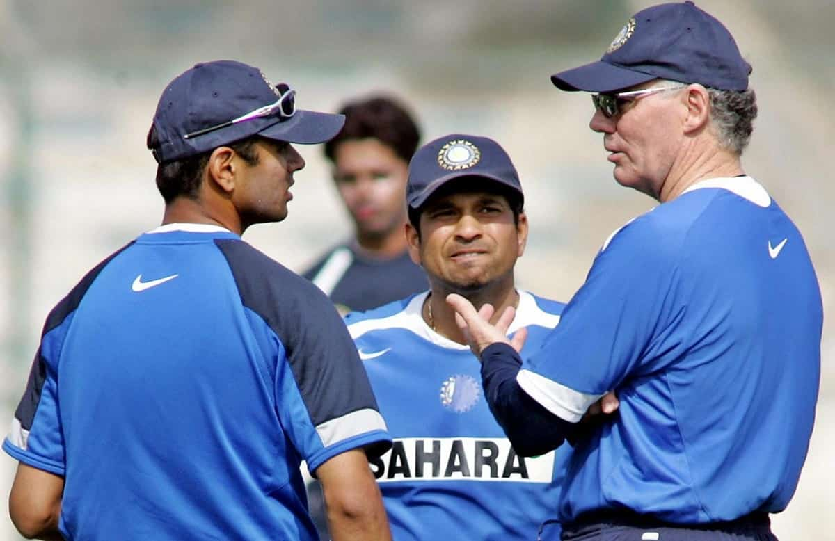 Cricket Image for Dravid Picked 'Australian Brains' In Identifying Talent And Replicated It In India