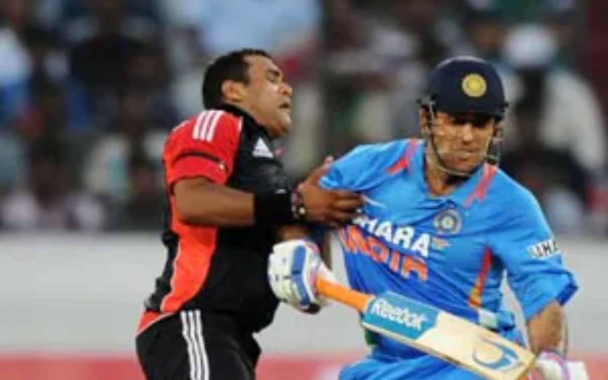 Cricket Image for 'मुझे बलि का बकरा बनाया गया', राहुल द्रविड़ से लगातार तीन छक्के खाने वाले बॉलर का