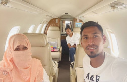 Shakib Al Hasan and Mustafizur Rahman reach Bangladesh by charter flight, thank IPL franchises