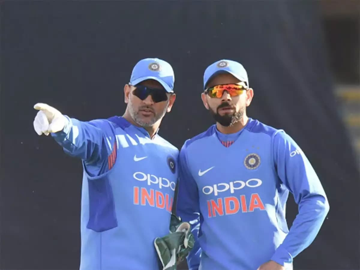 Cricket Image for Virat Kohli Describes His Bond With MS Dhoni In Two Words