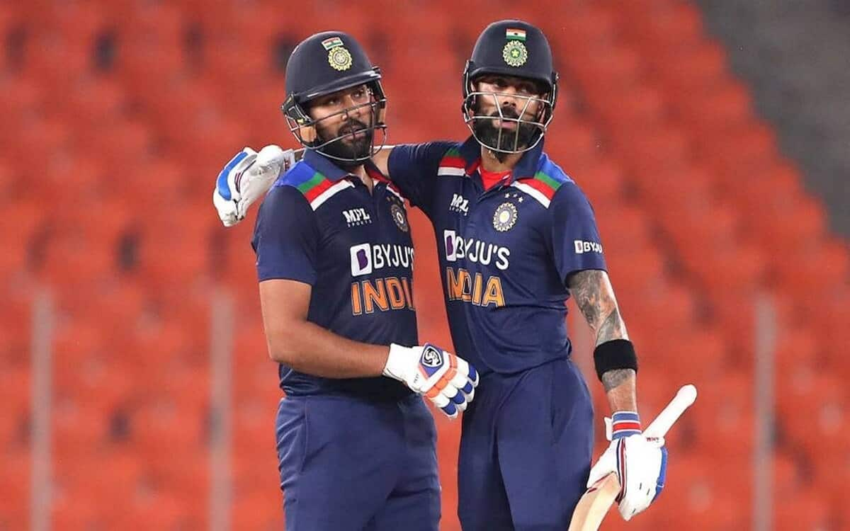 Cricket Image for Virat Kohli And Rohit Sharma Present In Top Three In Icc Latest Odi Rankings