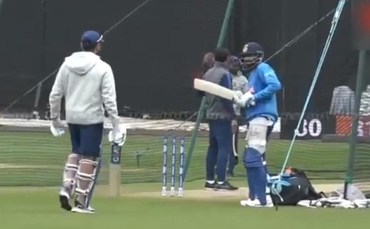 Cricket Image for Virat Kohli Mimic Rohit Sharma Infront Of Him Watch Video