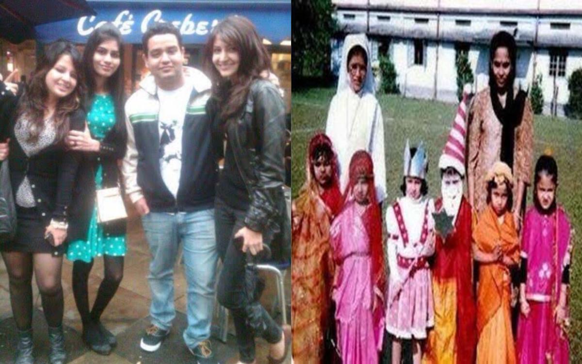 Cricket Image for Virat Kohli Wife Anushka Sharma And Sakshi Dhoni Childhood Pics Viral
