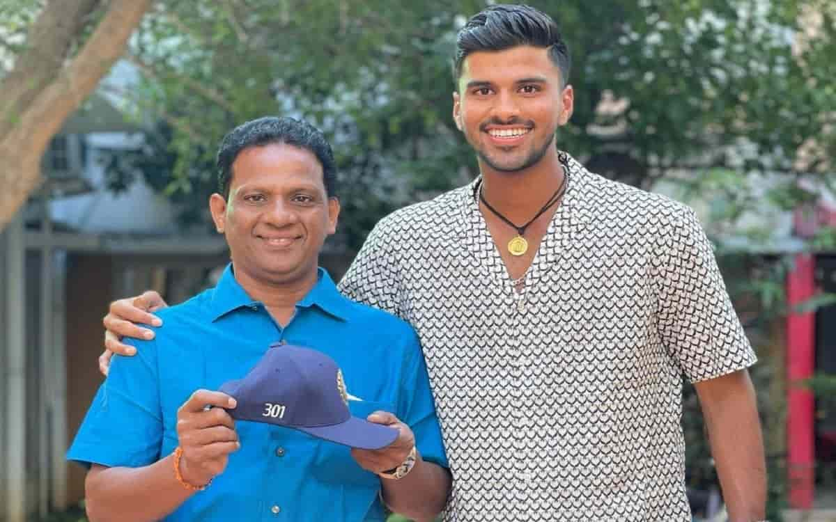Washington Sundar's father makes perfect 'separation' for son for his upcoming cricket tours