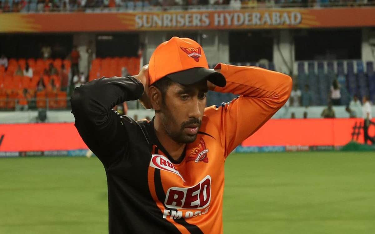 Cricket Image for Don't Mislead About My Covid-19 Status Says SRH's Wriddhiman Saha