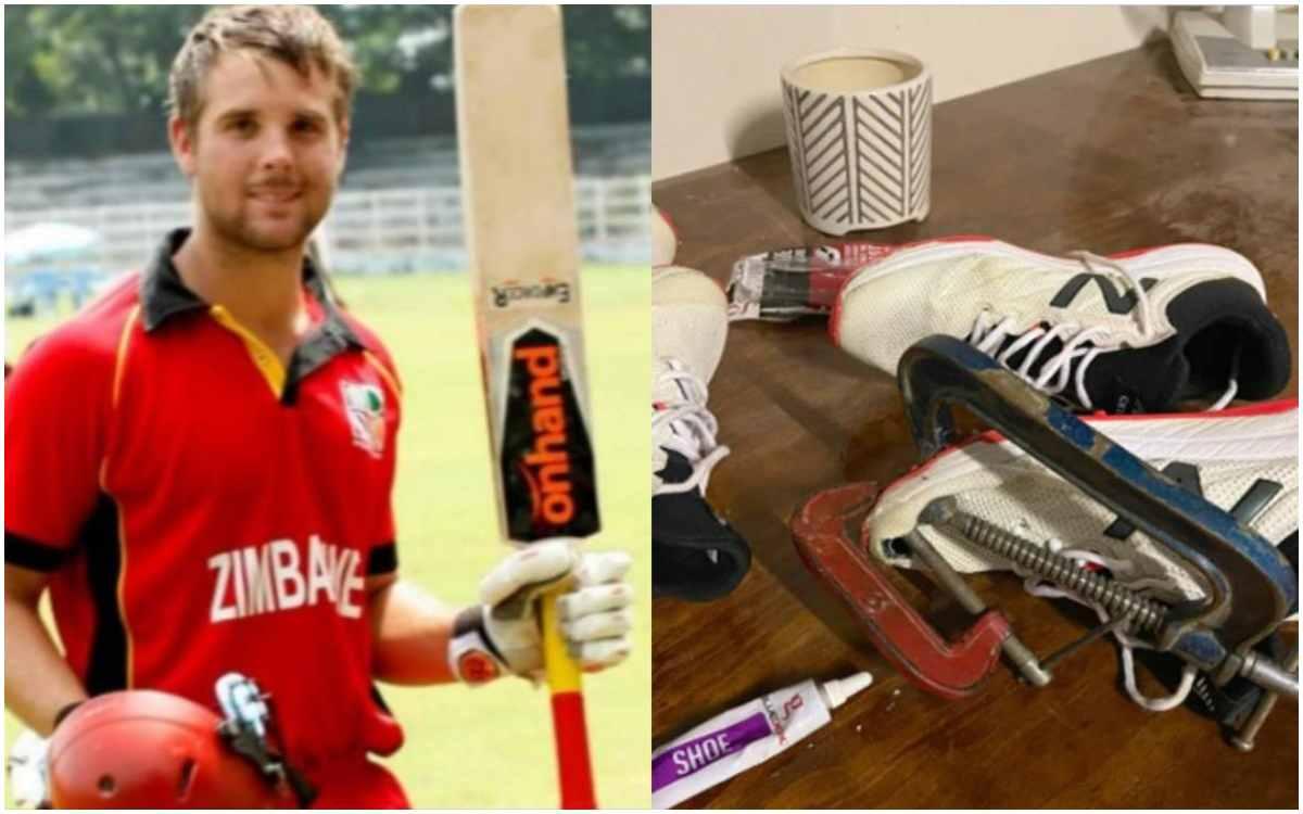 Cricket Image for फटे जूते वाली पोस्ट को लेकर बुरे फंसे रयान बर्ल, ज़िम्बाब्वे क्रिकेट बोर्ड लगा सकत