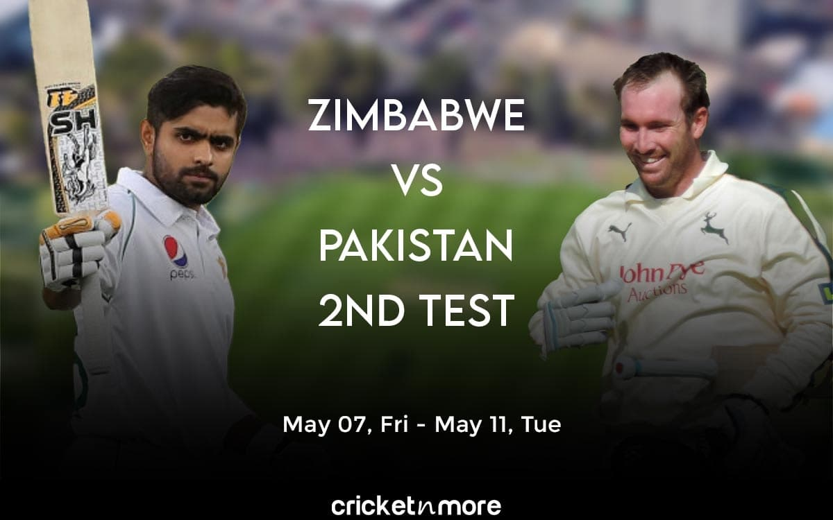 Cricket Image for Zimbabwe vs Pakistan, 2nd Test – Prediction, Fantasy XI Tips & Probable XI