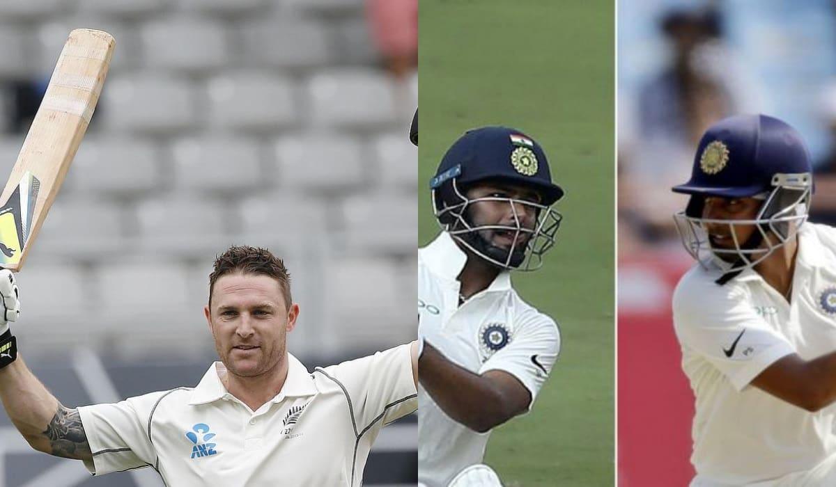 3 Indian batsmen who can break Brendon McCullum's record of fastest Test century in 54 balls