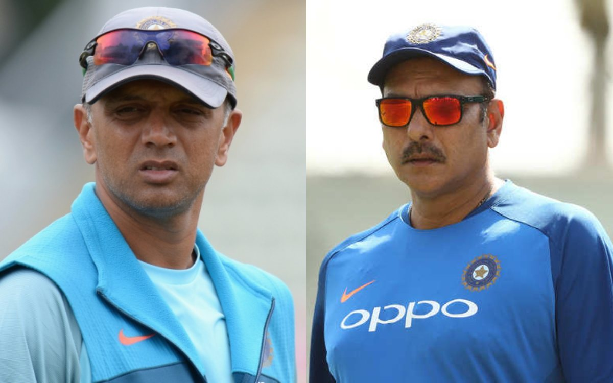 Cricket Image for3 Reasons Why Ravi Shastri Should Be Replaced By Rahul Dravid As Coach