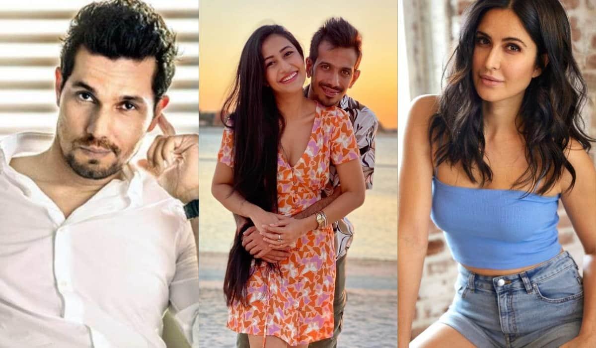 Chahal Wants Randeep Hooda to play him and Katrina to Play Dhanashree in their biopic