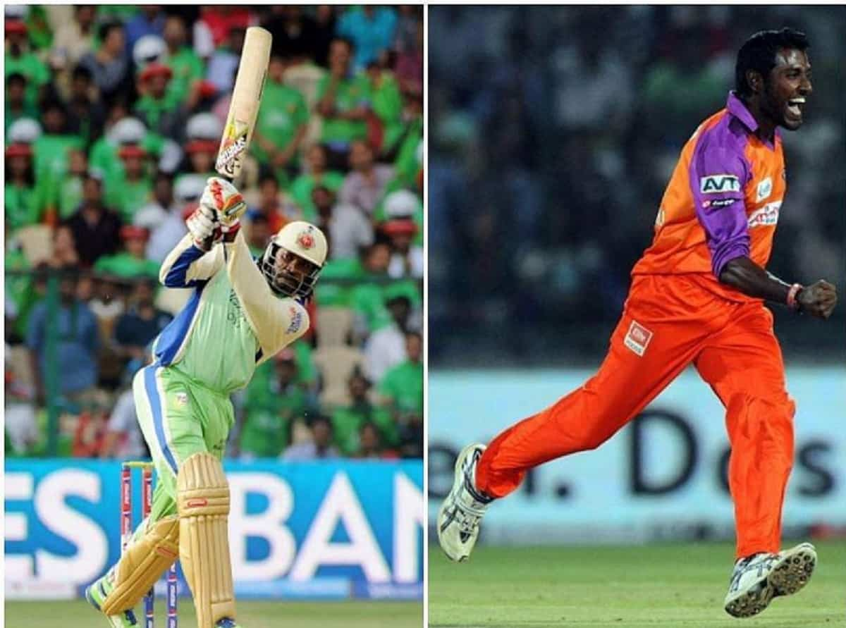 Chris Gayle 37 RUNS in an over in IPL