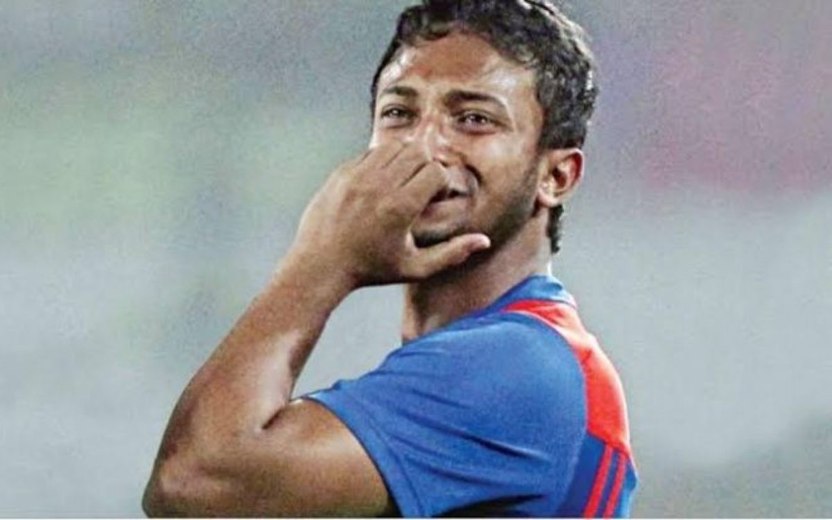 Cricket Image for DPL 2021 Shakib Al Hasan Reacts After Lashes Out At Stumps In Anger