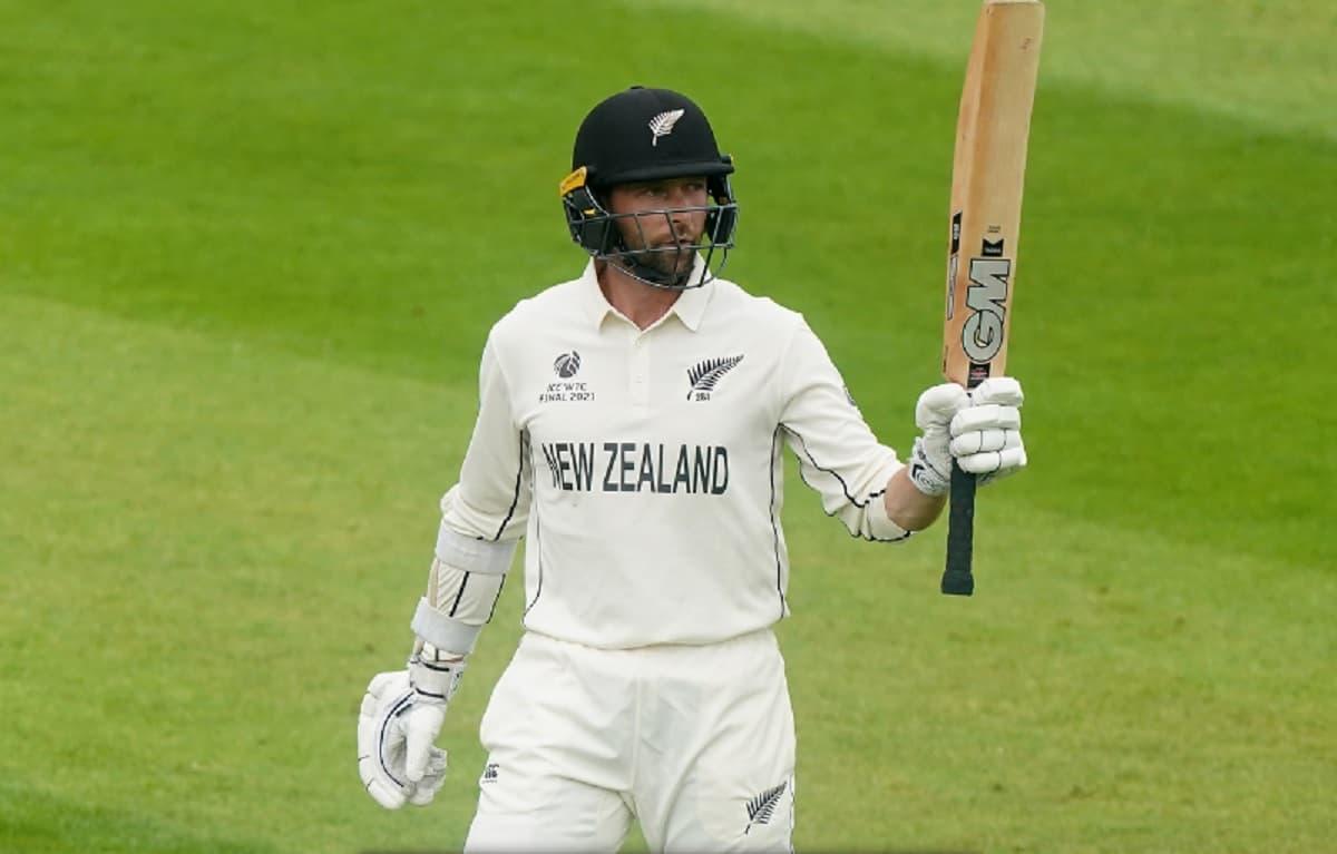 Cricket Image for WTC Final,तीसरा दिन: जैमीसन के बाद कॉनवे का कमाल, न्यूजीलैंड का स्कोर 2 विकेट पर 1