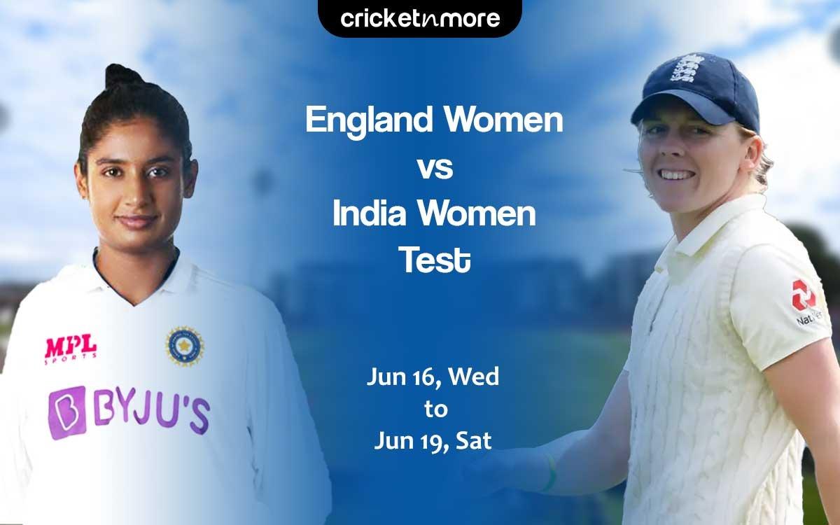 Cricket Image for Match Preview: 7 साल बाद टेस्ट मैच खेलेगी भारतीय महिला क्रिकेट टीम, इंग्लैंड के खि