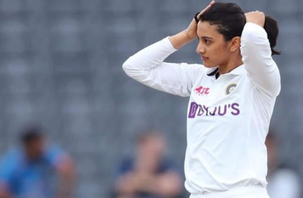Cricket Image for India Womens Cricketer Smriti Mandhana Declaring National Crush