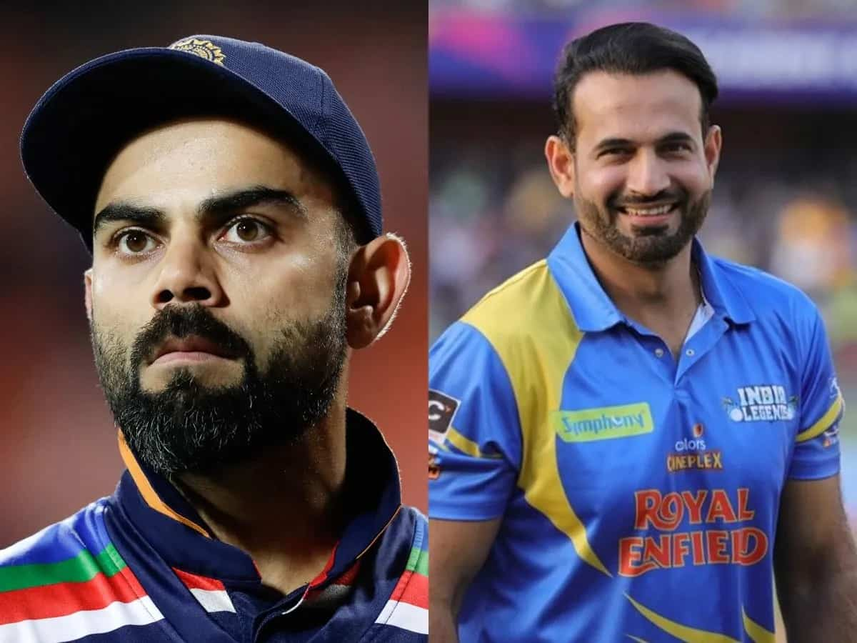 Irfan Pathan gives back to a Twitter user for calling him Virat Kohli's 'Chamcha'