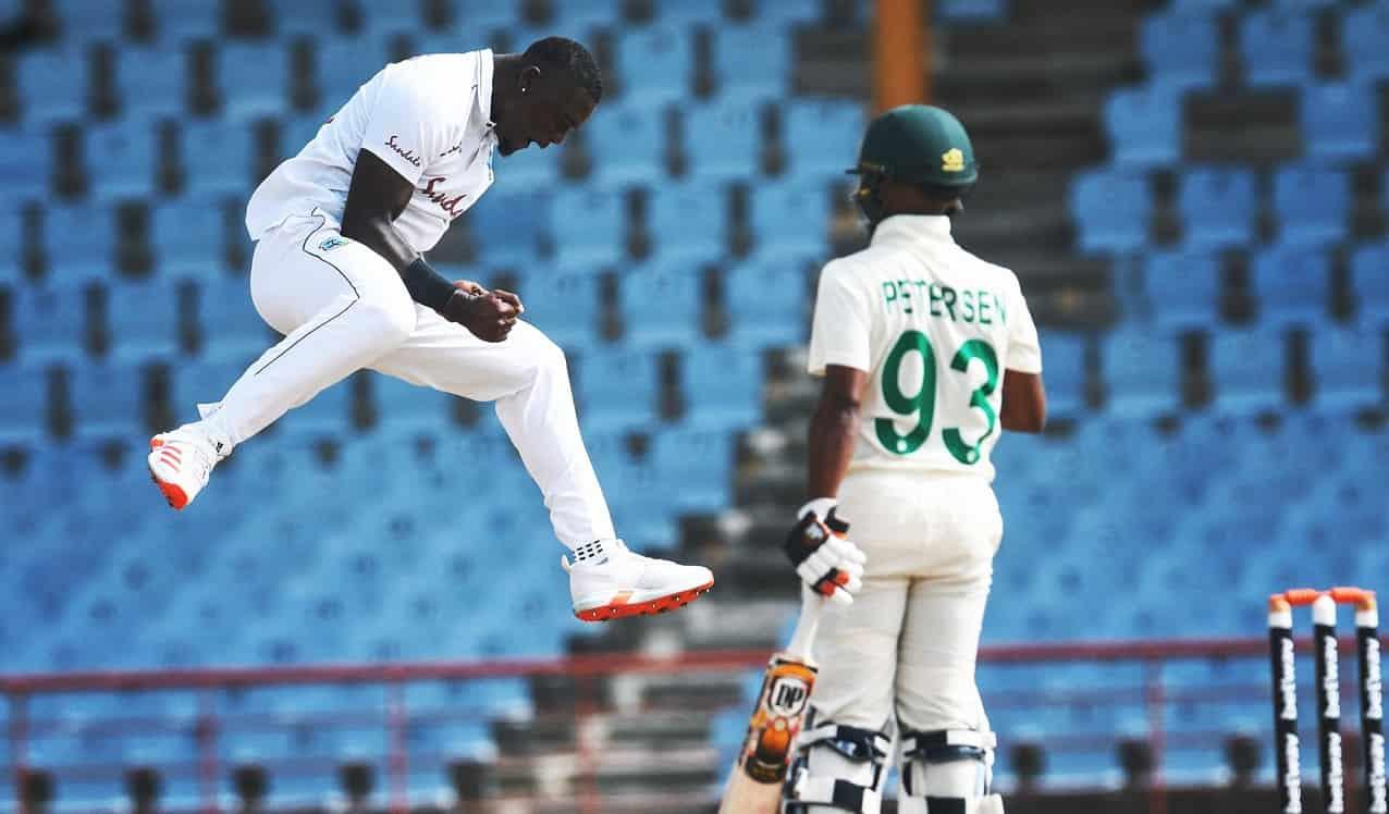 Cricket Image for 1st Test: वेस्टइंडीज को 97 रन पर ढेर कर साउथ अफ्रीका ने बनाई बढ़त,19 साल के सील्स