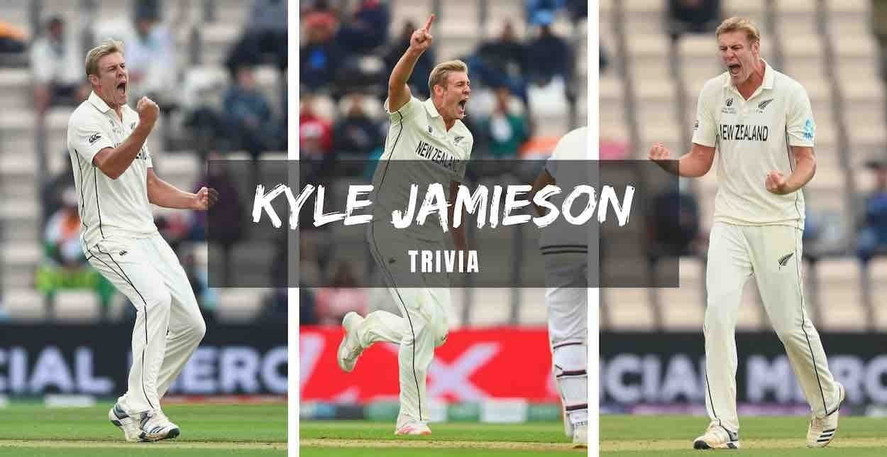 Cricket Image for Interesting Facts, Trivia, And Records About '6ft 8 inch Tall' Kyle Jamieson