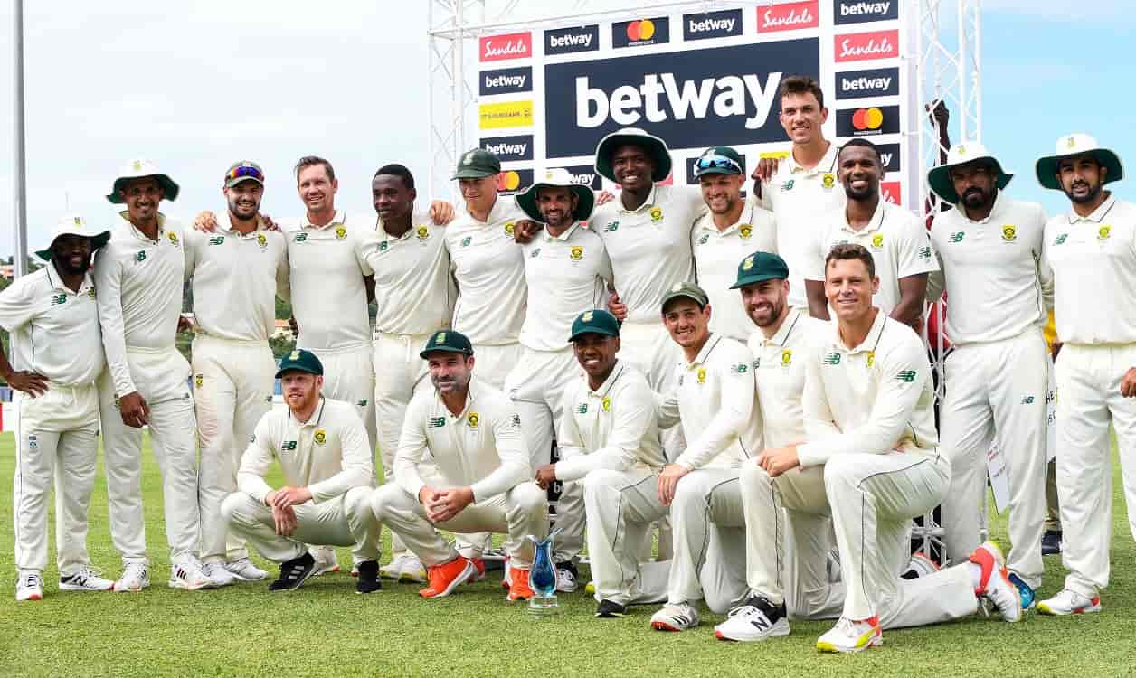 Match Highlights South Africa beat West Indies by 158 runs in second test