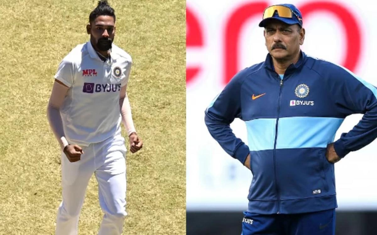 Cricket Image for Mohammed Siraj Talks About How Ravi Shastri Backs Him During Australia Tour