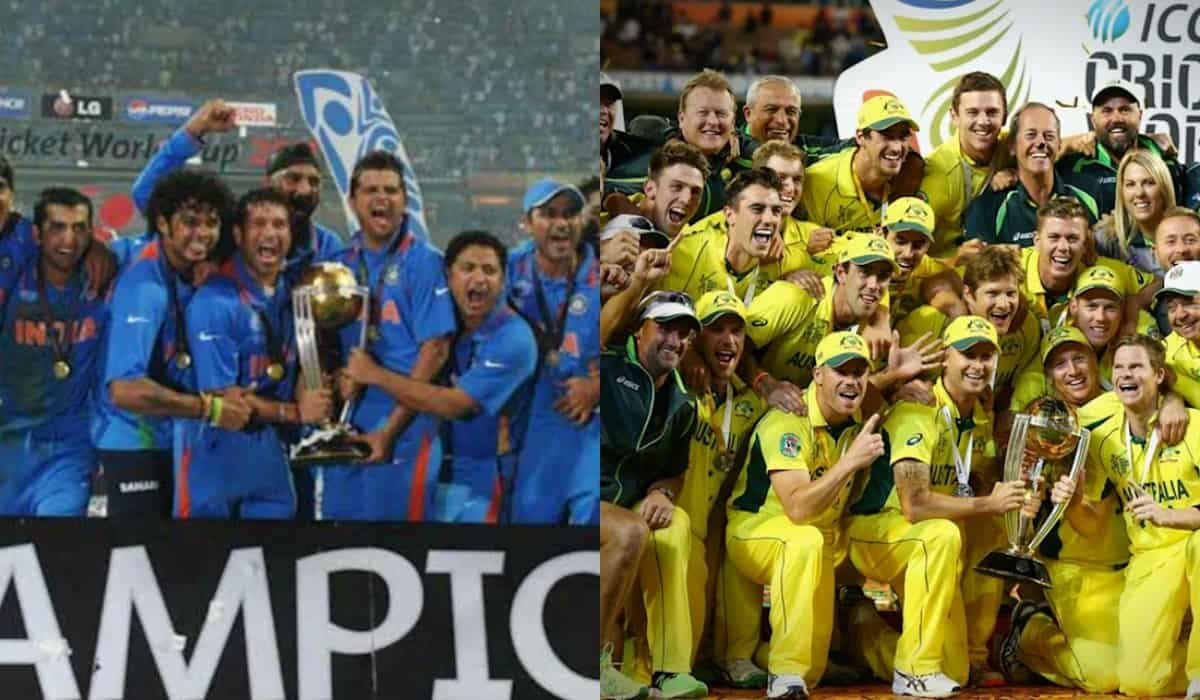 Most Number of ICC Finals by a team