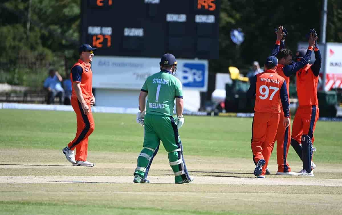 Cricket Image for 1st ODI: रोमांचक मुकाबले में नीदरलैंड ने आयरलैंड को 1 रन से हराया, 14 साल बाद हुआ