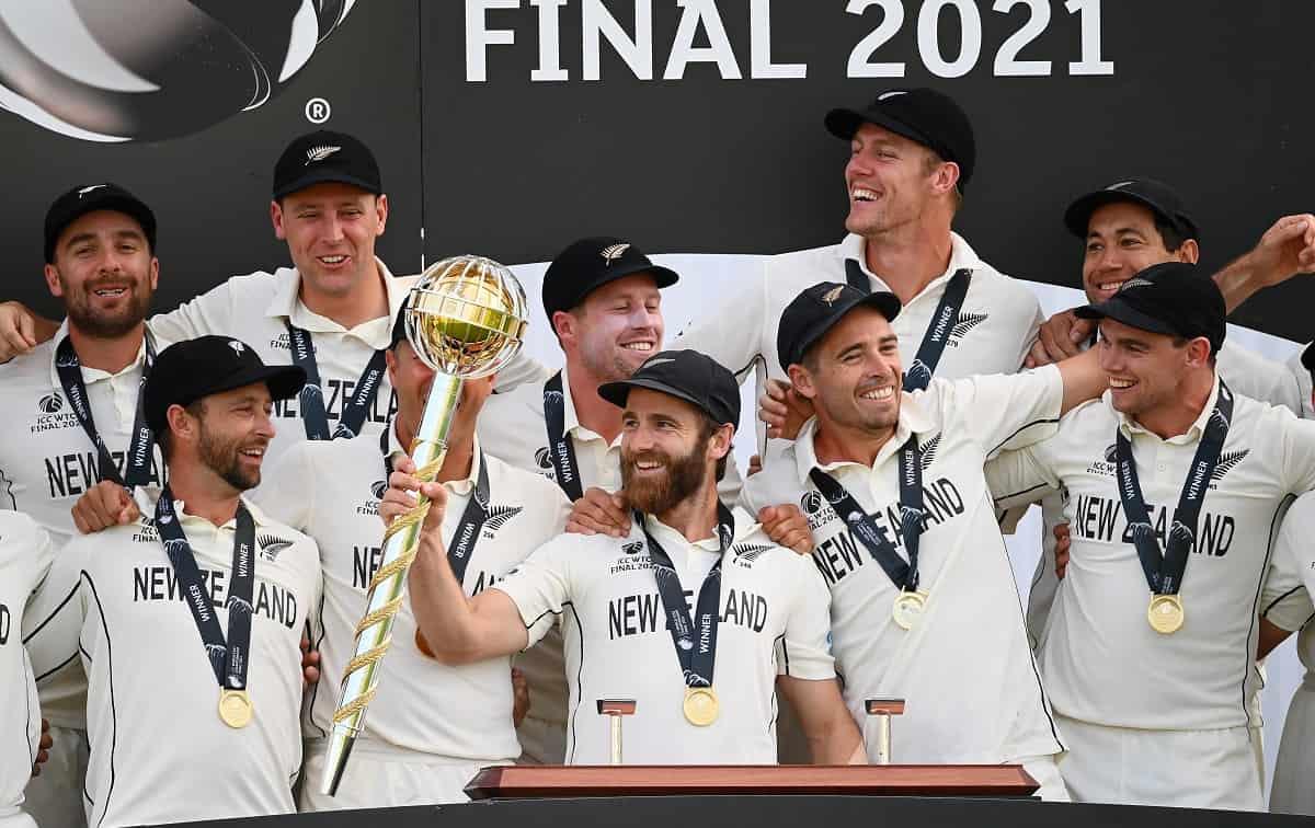 Cricket Image for WTC Final: न्यूजीलैंड बना पहला वर्ल्ड टेस्ट चैंपियन, 144 साल के इतिहास में पहली बा