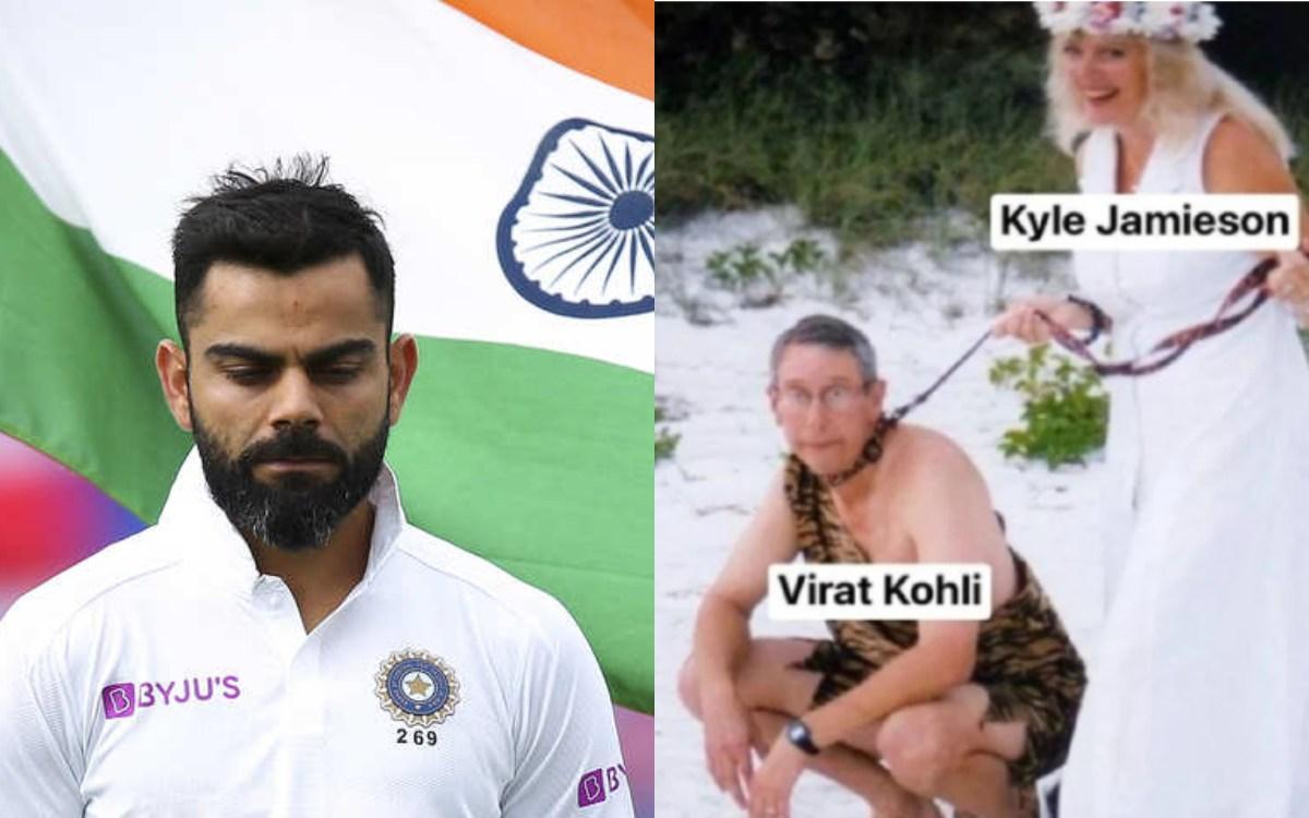 Cricket Image for New Zealand Website Insults Virat Kohli After New Zealand Win