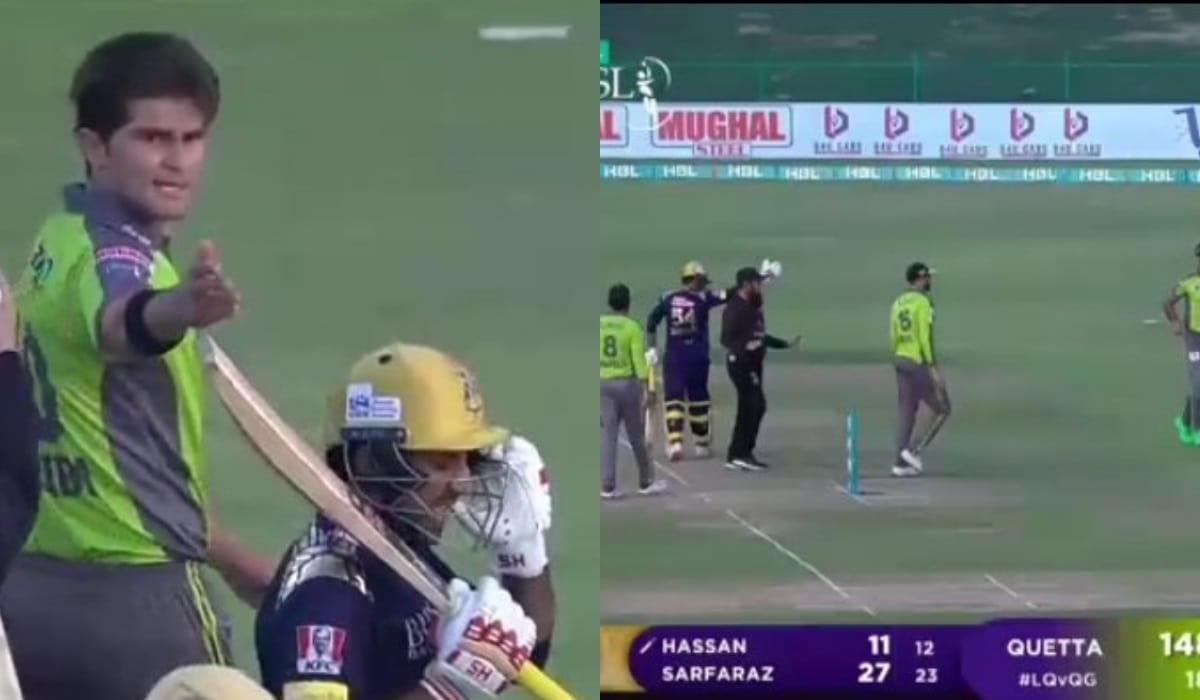 PSL 2021- [Watch] Sarfaraz Ahmed, Shaheen Afridi engage in heated verbal exchange