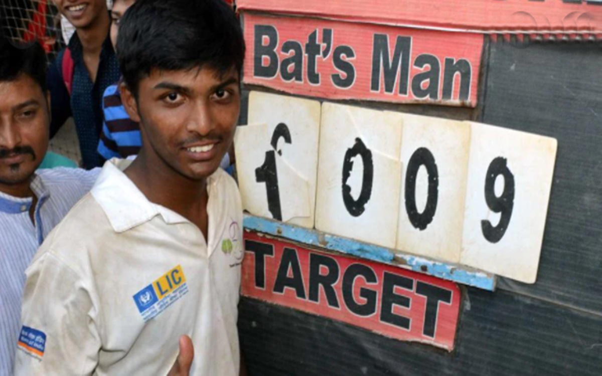 Cricket Image for Pranav Dhanawade Talks About His Favourite Ipl Team And Rohit Sharma