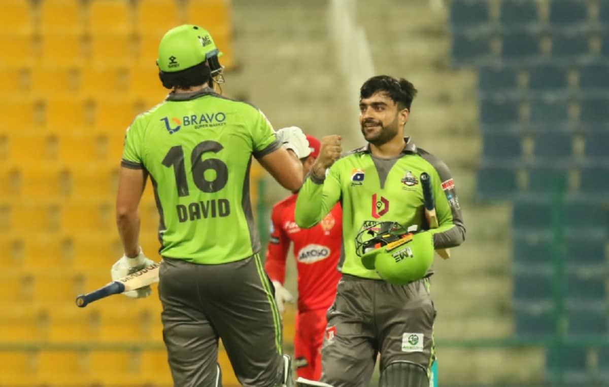 Cricket Image for PSL 2021: राशिद खान ने आखिरी ओवर में ठोके 15 रन, लाहौर कलंदर्स ने इस्लामाबाद यूनाइ