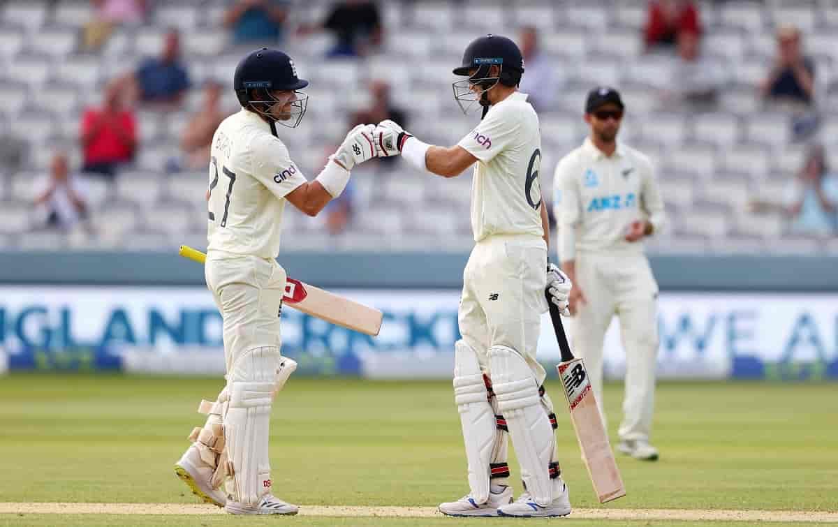Cricket Image for 1st Test: खराब शुरूआत के बाद बर्न्स-रूट ने इंग्लैंड की पारी संभाली,स्टंप्स तक बनाए