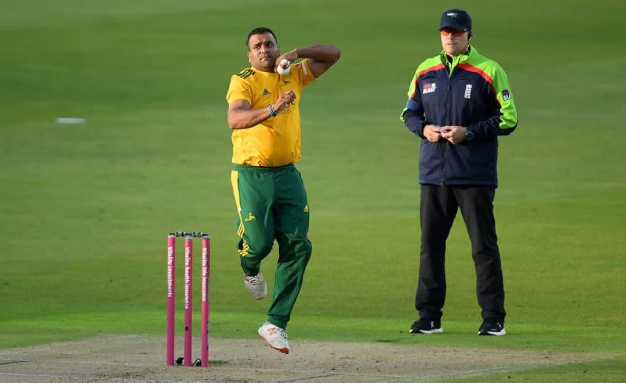 Cricket Image for T20 Blast: समित पटेल ने 4 ओवर में चार रन पर 3 विकेट लेकर रचा इतिहास, सिर्फ 38 गेंद