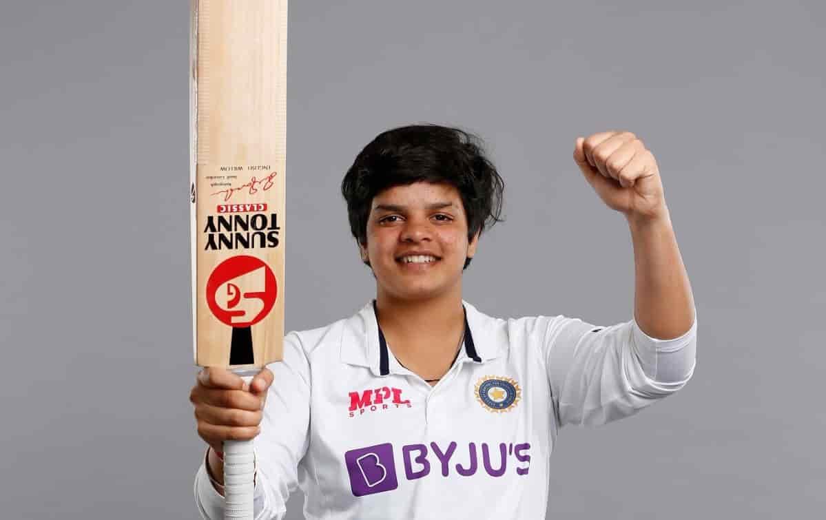 Cricket Image for शेफाली वर्मा ने बनाया वर्ल्ड रिकॉर्ड, टेस्ट क्रिकेट में ऐसा करने वाले दुनिया की पह