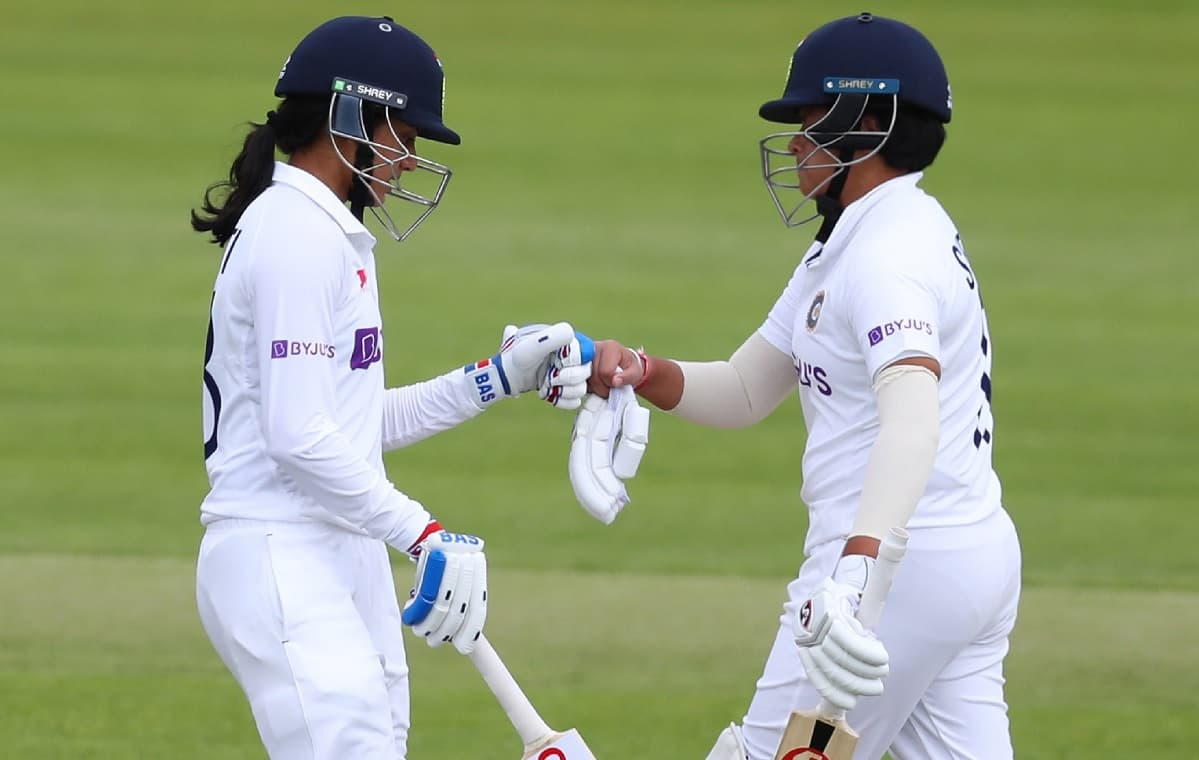 Cricket Image for Women's Test: India Collapse To 187/5 After Solid Start Vs England