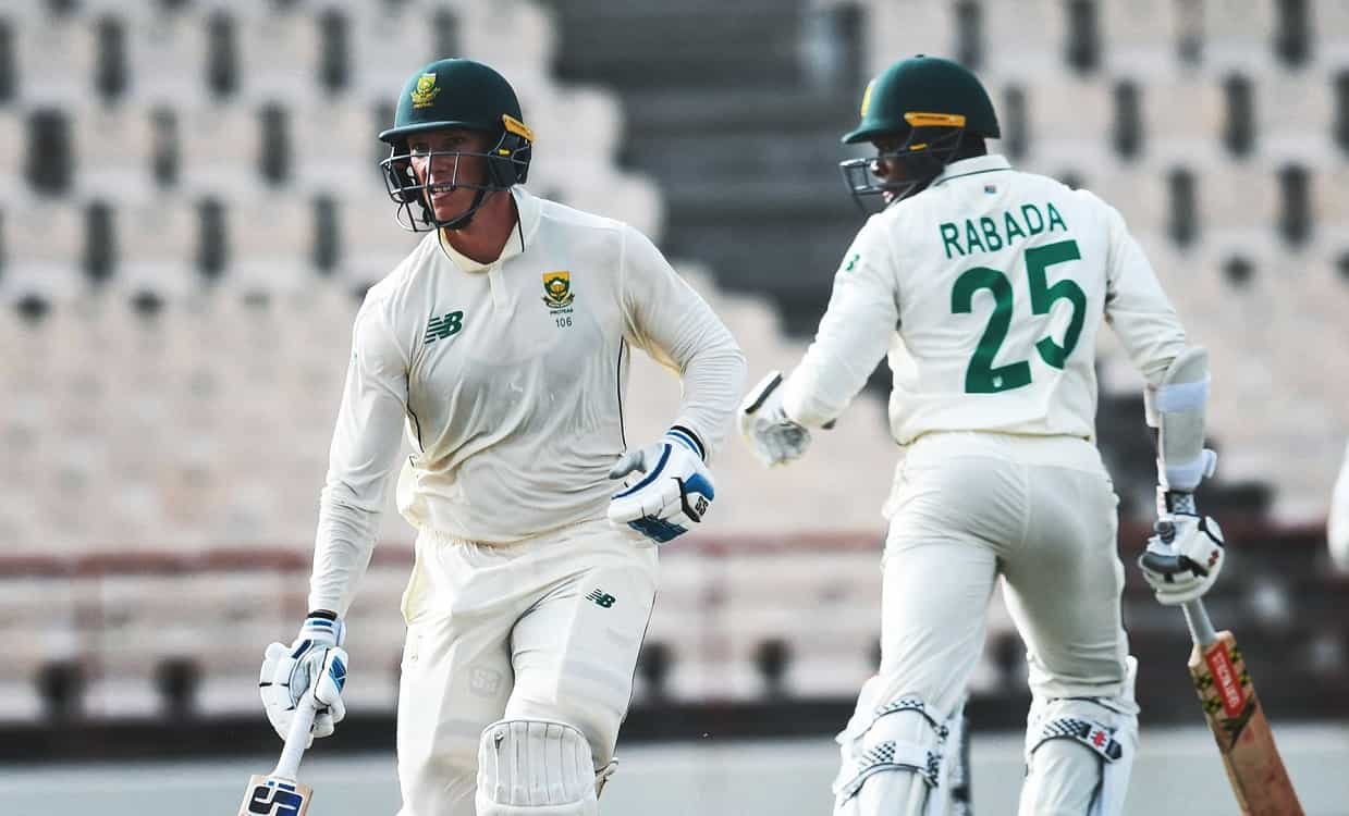 Cricket Image for WI vs SA: रोच-मेयर्स ने बरपाया कहर, साउथ अफ्रीका ने जीत के लिए वेस्टइंडीज को दिया