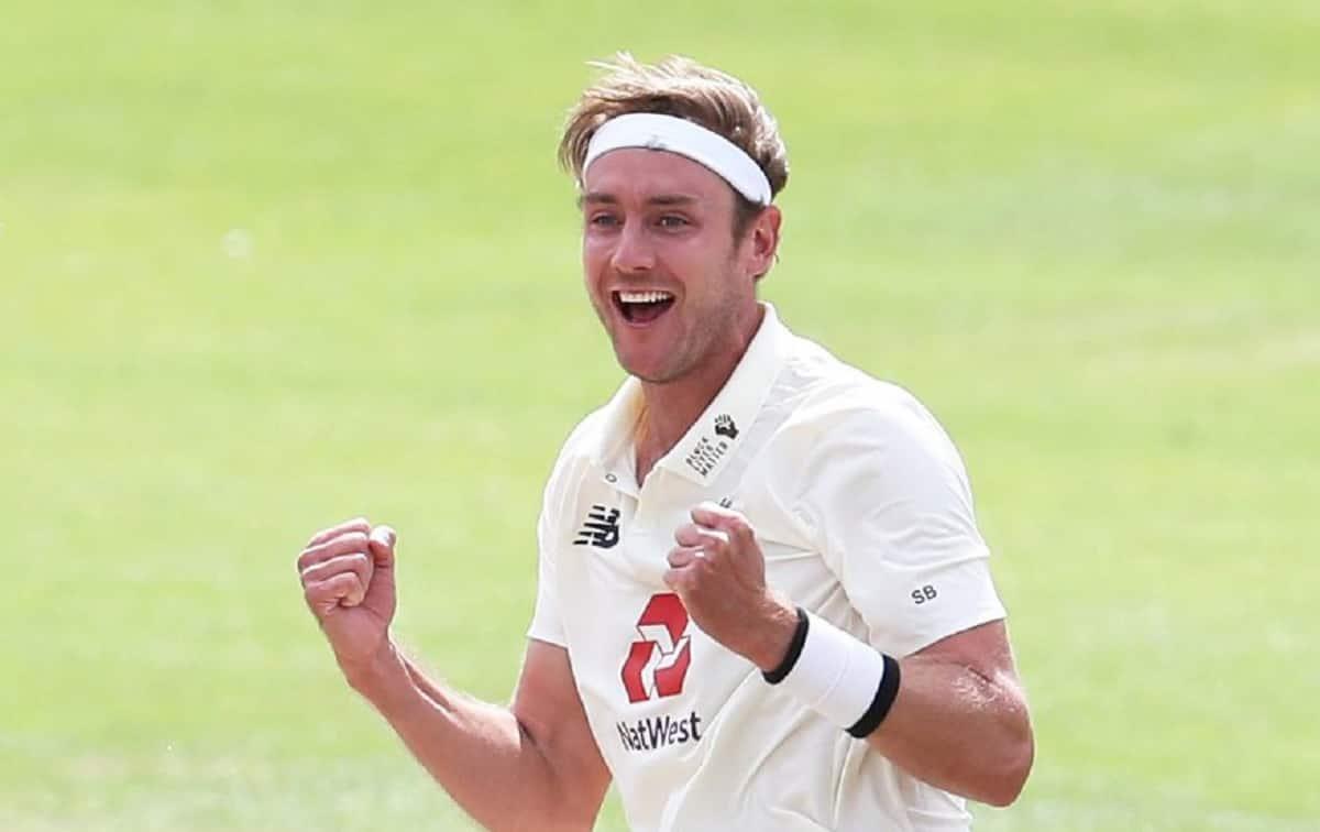 Stuart Broad 520 wicket