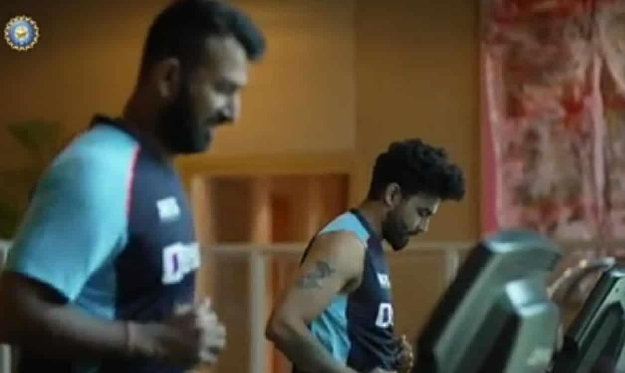 Cricket Image for टीम इंडिया ने WTC फाइनल ले लिए शुरू की तैयारियां,जिम में की कड़ी मेहनत, देखें VIDE